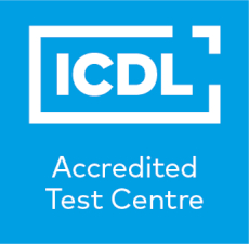 Logo des ICDL Accredited Test Centre
